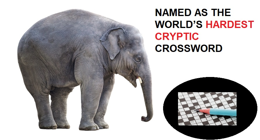 NAMED AS THE WORLD'S HARDEST CRYPTIC CROSSWORD