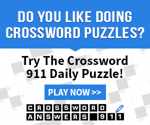 Crossword Answers 911 Daily Puzzle